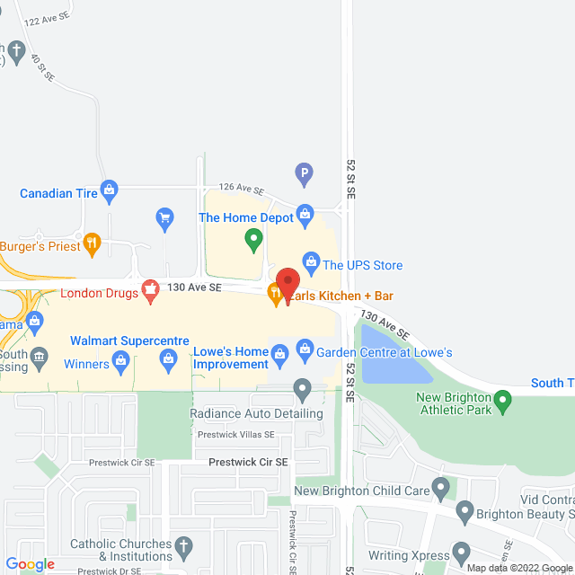 Map to Family Foundations Canada in Calgary, AB
