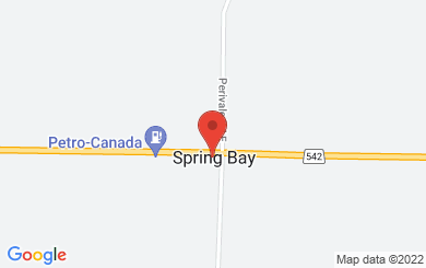Map to Spring Bay Pentecostal Church in Spring Bay, ON