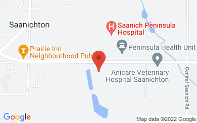 Map to Saanichton Bible Fellowship in Saanichton, BC