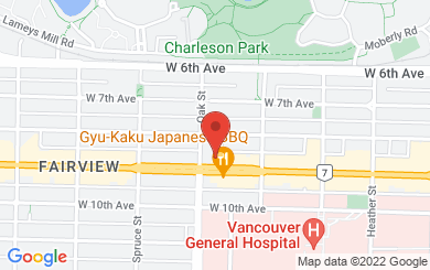 Map to Parley Services in Vancouver, BC