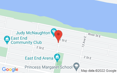 Map to North Harvest Community Church in Prince Albert, SK