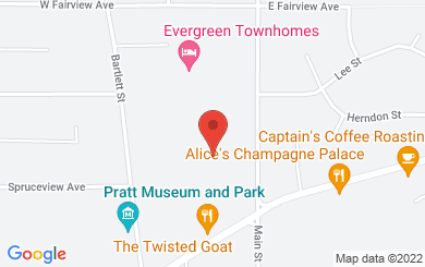 Map to Christian Community Church in Homer, AK