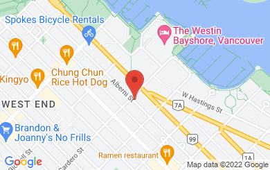 Map to Financial Literacy Counsel Inc. in Vancouver, BC