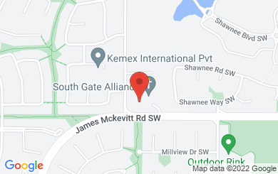 Map to South Gate Alliance Church | Mandarin (國語) in Calgary, AB