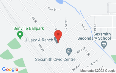 Map to Webster Community Church in Sexsmith, AB