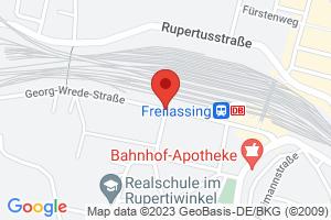 Festplatz Freilassing am Bahnhof