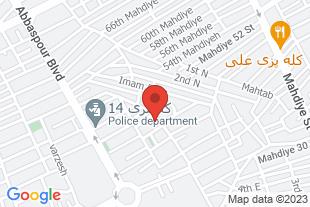 درخواست نمایندگی پخش بصورت درب به درب - موقعیت در نقشه