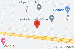 شرکت سپاهان فرایند - موقعیت در نقشه