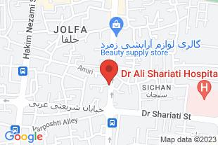 آموزشگاه مکالمه زبان اصفهان - موقعیت در نقشه