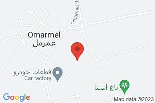 فروش زمین کشاورزی در 3000 متری شهر کرمانشاه - موقعیت در نقشه