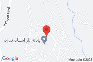 حمل ونقل تهرانی - موقعیت در نقشه