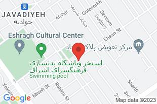فروش 500 متر آپارتمان زیر قیمت تهرانپارس - موقعیت در نقشه