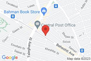 دفتر وکالت 09124667484 ا - موقعیت در نقشه
