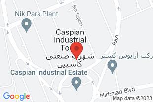 گروه بازرگانی ال ال جی پارت - موقعیت در نقشه