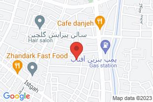 فروش اپارتمان شاهرود - موقعیت در نقشه