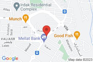 خدمات خودرویی در محل یا انتقال به تعمیرگاه تبریز - موقعیت در نقشه
