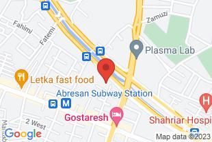 کلینیک گفتاردرمانی تبریز آذربایجان - موقعیت در نقشه