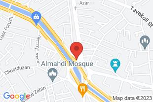 نگهداری از سالمند در منزل و بیمارستان - موقعیت در نقشه