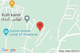 فروش باغ در شهرستان مرند - موقعیت در نقشه