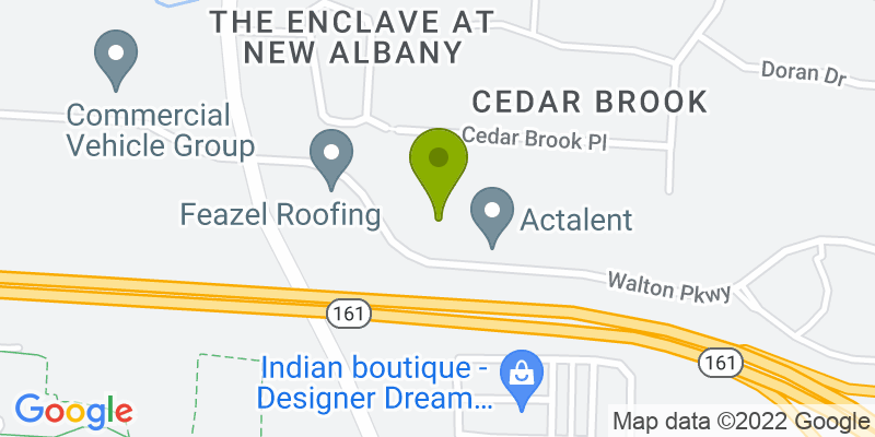 Map of 8000 Walton Parkway in New Albany, OH