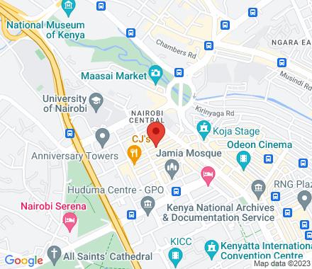 14859 00400 Nairobi Kenya - Map view