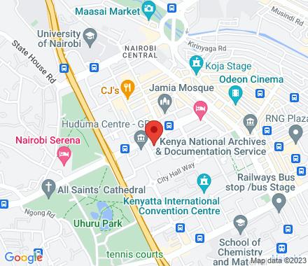 Kisames   Kenya - Map view