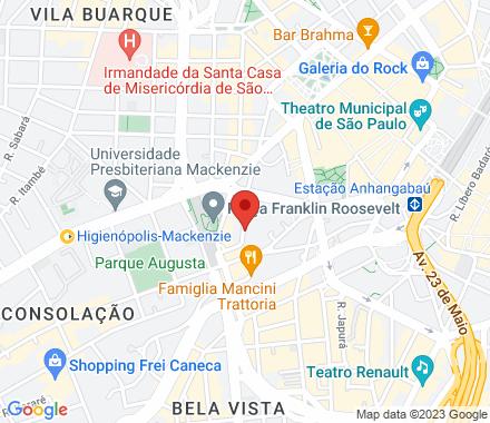 Rua Nestor Pestana, 147 01303010 São Paulo Brazil - Map view