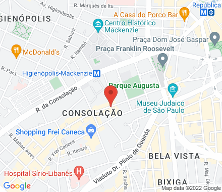 Rua Augusta 523, São Paulo. 01305-000 São Paulo Brazil - Map view