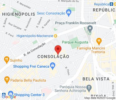 Rua Augusta, 609 01305-000 SP Brazil - Map view