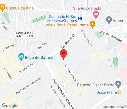 Rua João Moura, 1076 05412-001 SP Brazil - Map view