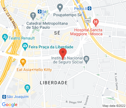 LIBERDADE - 1512020 SP Brazil - Map view