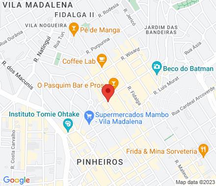 Rua Mourato Coelho, 1032 05417-011 SP Brazil - Map view