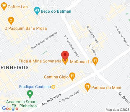 Rua Joaquim Antunes, 668, 3° andar, Pinheiros 05415-001 São Paulo Brazil - Map view
