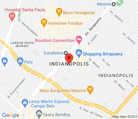 Alameda Dos Pamaris 30 04086-020 São Paulo Brazil - Map view