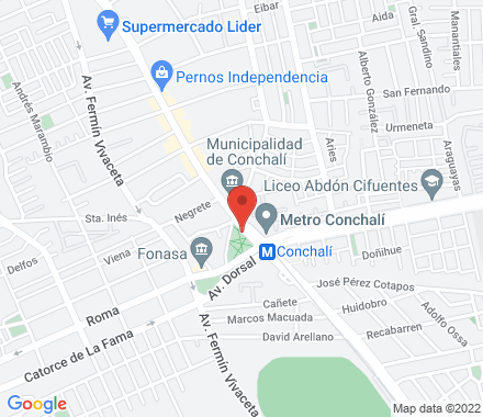 Av. Independencia #3331 8540818  Chile - Map view