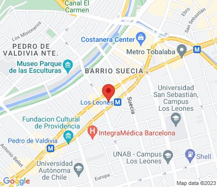 Avenida Nueva Providencia #2214; Of. 63  Santiago Chile - Map view