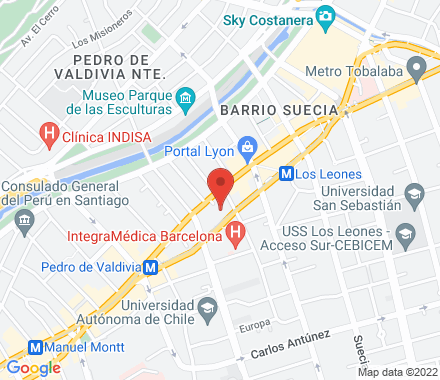 Orrego Luco 46, Providencia 7510150 Santiago Chile - Map view