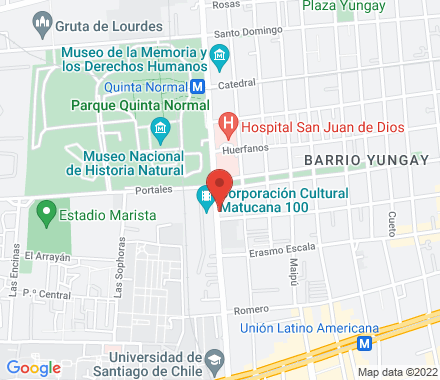 AV. MATUCANA 100 9170023  Chile - Map view