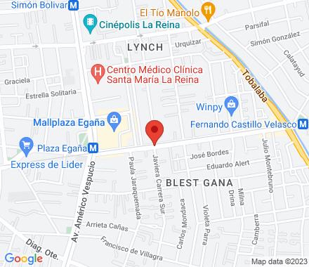 7500906 Santiago Chile - Map view