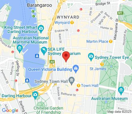 Level 6, 225 Clarence Street 2000 Sydney Australia - Map view