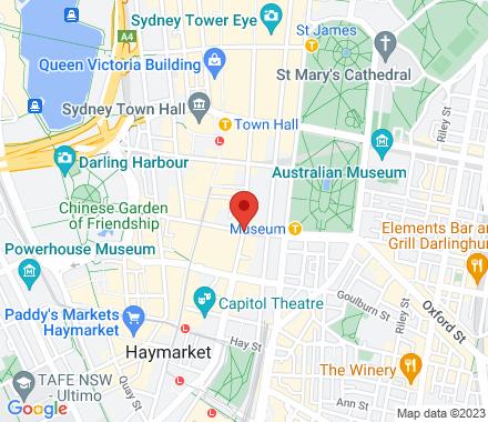 127 Liverpool St(cnr Pitt street)  , meetup1 Sydney, au - Map view