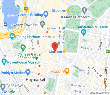 127 Liverpool Street  ,  Sydney, au - Map view