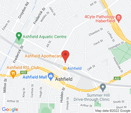 1-11 Charlotte Street Next to Ashfield Station and across from Thai Number 1 Restaurant ,  Ashfield, au - Map view