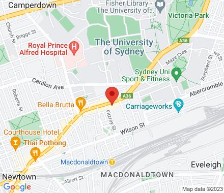 42 King St 2042 Newtown Australia - Map view