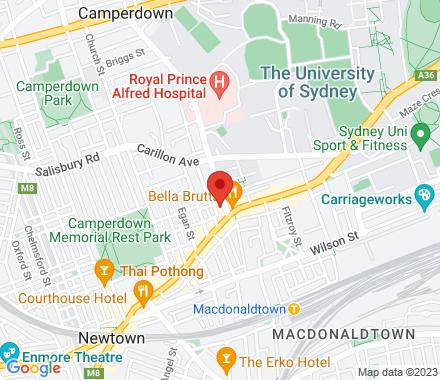 Level 1, 201 Missenden Road 2042 Newtown Australia - Map view