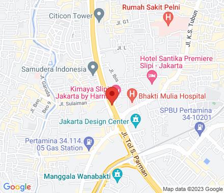 Jl. S. Parman  ,  Jakarta, id - Map view