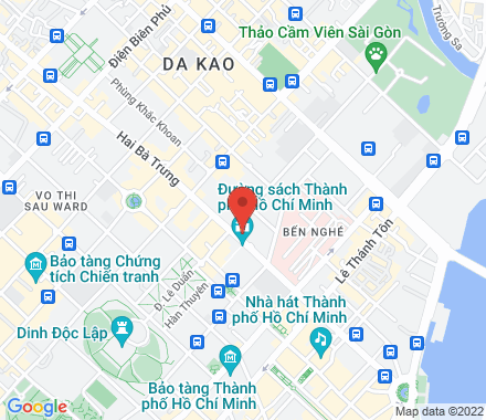 KUMHO ASIANA PLAZA, 39 Le Duan Street, District 1  Ho Chi Minh City Vietnam - Map view