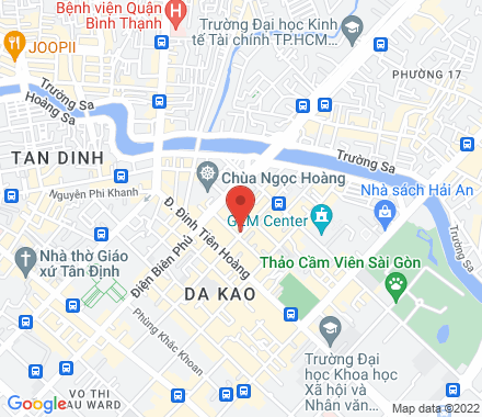 HPL Building, 60 Nguyen Van Thu Street, Dakao Ward, District 1 84 Ho Chi Minh City Vietnam - Map view