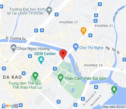12M Nguyen Thi Minh Khai, Da Kao Ward, District 1, Ho Chi Minh City  Ho Chi Minh City Vietnam - Map view