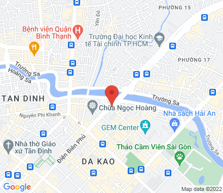 70000 Ho Chi Minh City Vietnam - Map view